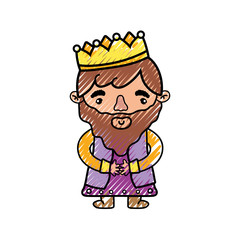 Isolated king design