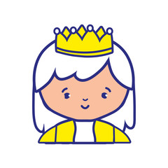 Isolated princess design