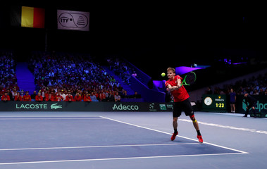 Davis Cup Final - France vs Belgium