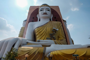 hugh buddha statue