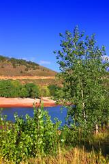 Fototapete - Horsetooth Reservoir County Park Colorado