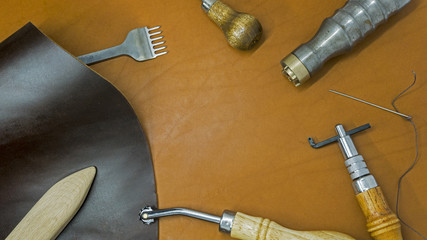 Leather tools handcraft do it yourself