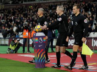 Premier League - West Ham United vs Leicester City