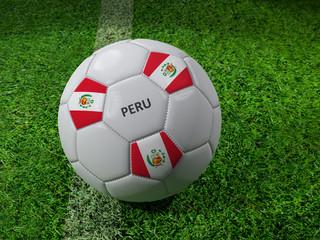 Peru soccer ball