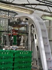 Förderband in landwirtschaftlicher Produktion