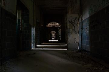 Poster Rudnes Abandoned Hospital