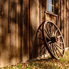 Wagon Wheel in the Sun
