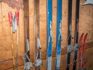 Collection of vintage Ski