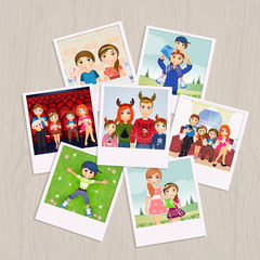 photographs with family memories
