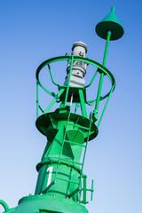grüne Fahrwassertonne