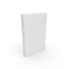 Empty pack for slim cigarettes. Rod designer
