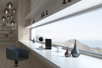 Modern room interior design