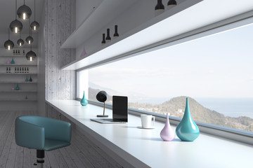 Light room interior design