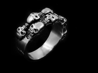 Jewel ring - Stainless steel