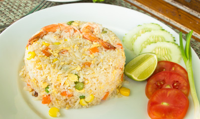 Shrimp Fried Rice, thai cuisine food