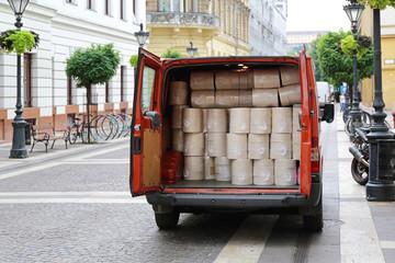 Van Delivery Shippment