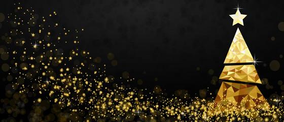 Weihnachtsbaum - Gold
