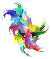 Paint Colors Shape Mix
