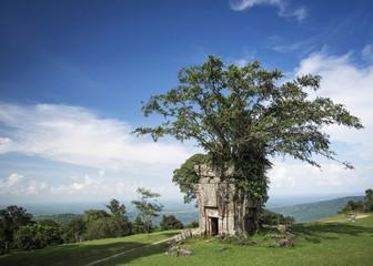 Preah Vihear ancient Khmer temple ruins landmark in Cambodia