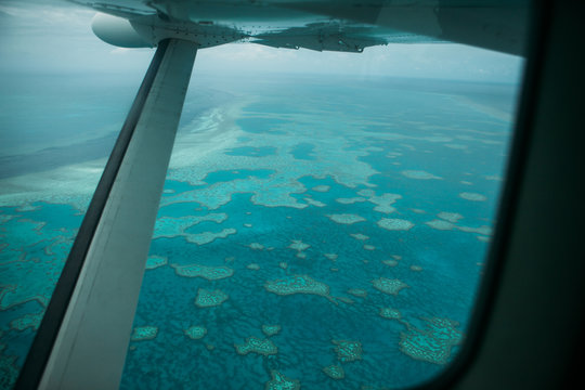 scenic flight above great barrier