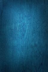 Deep blue wood texture background