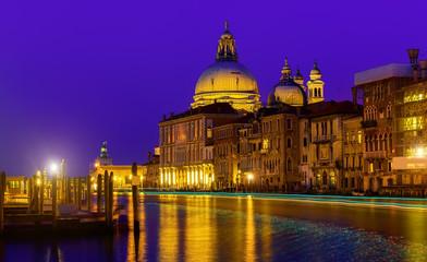 Photo sur Toile Europe Centrale Night in Venice