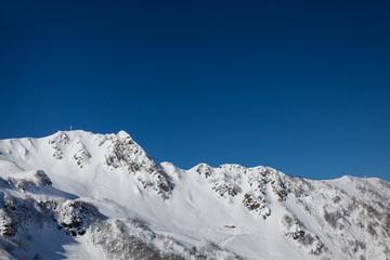 Beautiful landscape in mountains of Caucasus
