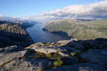 Pathway Preikestolen, Norway