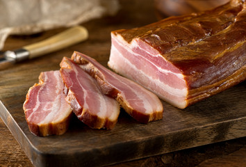 Whole Smoked Slab Bacon