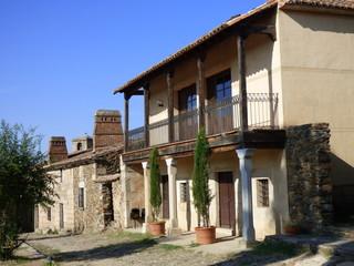 Granadilla. Pueblo abandonado de Caceres ( Extremadura, España)