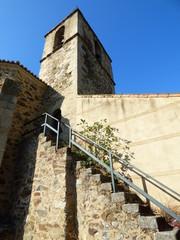 Pueblo abandonado de Garanadilla en Caceres ( Extremadura, España)
