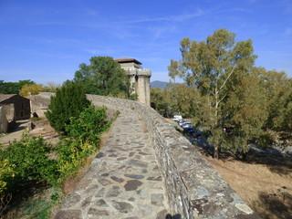 Granadilla, pueblo de Caceres en Extremadura,España