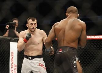 MMA: UFC Fight Night-Garcia vs Salikhov