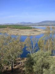 Naturaleza en Granadilla, pueblo historico abandonado en Caceres ( Extremadura, España)