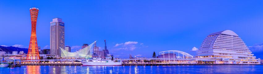 神戸港の風景,トワイライト