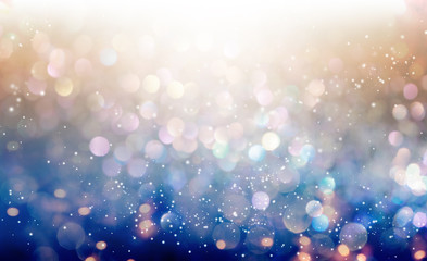 Beautiful abstract shiny light and glitter background Fotoväggar