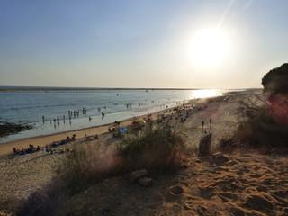 Playa de El Portil en Huelva ( Andalucia, España)