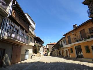 Herguijuela de la Sierra, pueblo de Salamanca  (Castilla y León, España)