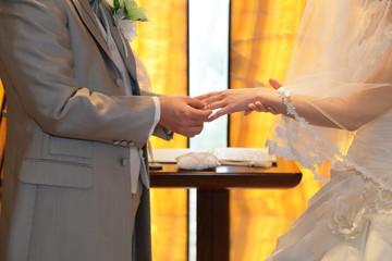 結婚式 指輪の交換