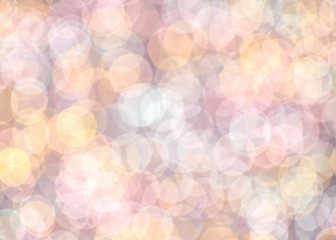 abstract romantic colorful bokeh  for background