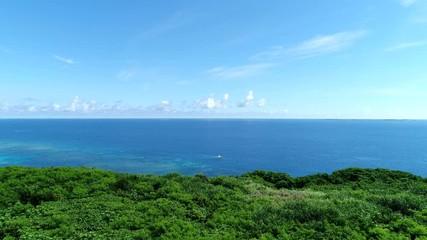 Wall Mural - 沖縄の海 ドローン撮影