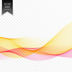 abstract yellow wave background design
