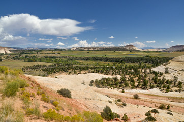 Sugarloaf dome near Boulder, Utah  scenic view from Scenic Byway 12 in Grand Staircase - Escalante National Monument
