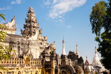 Maha Aung Mye Bon Zan monastery, Mandalay, Burma