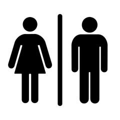 мужской и женский туалет