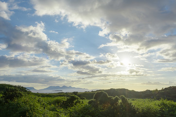Arisaig 'Face in the Clouds' over Rum