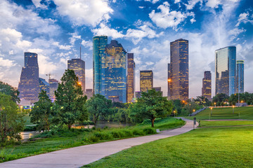 Fototapete - Houston, Texas, USA