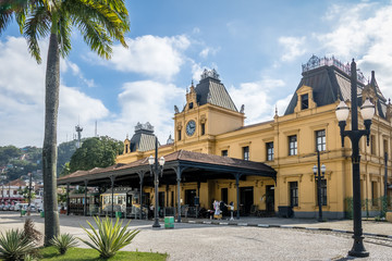 Old Valongo Train Station - Santos, Sao Paulo, Brazil