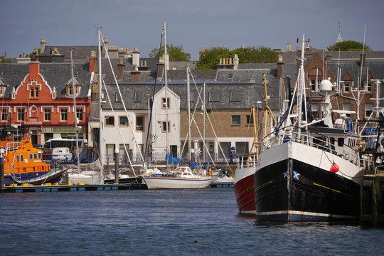 Hafen Stornoway - Äußere Hebriden