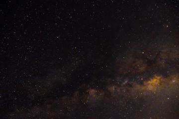 Milky way galaxy nebula night photograph